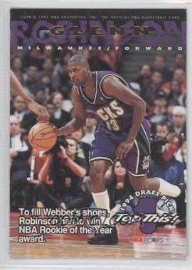 1994-95 NBA Hoops #421 - Glenn Robinson, Chris Webber
