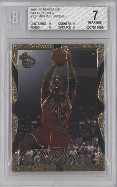 1994-95 Topps Embossed Golden Idol #121 - Michael Jordan [BGS 7]