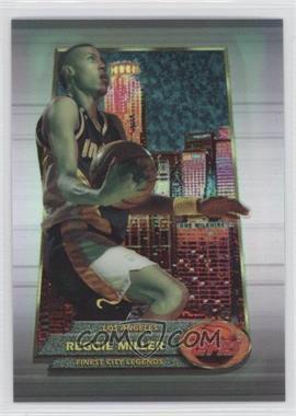 1994-95 Topps Finest Refractor #155 - Reggie Miller