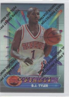 1994-95 Topps Finest Refractor #316 - B.J. Tyler