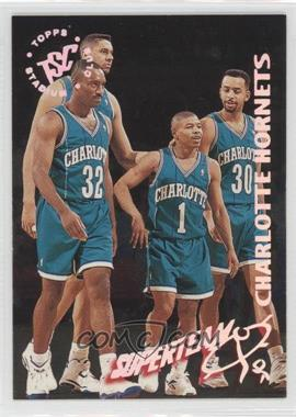 1994-95 Topps Stadium Club - NBA Super Team Redemptions #3 - Charlotte Hornets Team