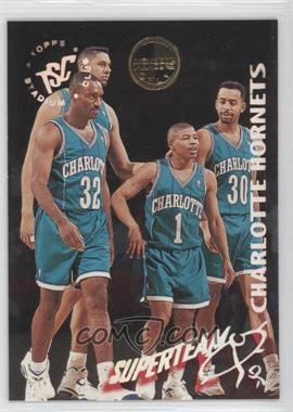 1994-95 Topps Stadium Club - Super Teams - Members Only #3 - Charlotte Hornets Team