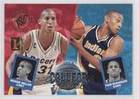 UCLA College Teammates (Reggie Miller, Pooh Richardson)