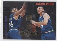 Back Court Tandem (Jim Jackson, Jason Kidd)