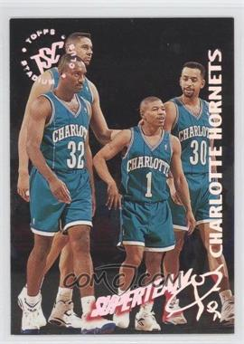 1994-95 Topps Stadium Club NBA Super Team Redemptions #3 - Charlotte Hornets Team