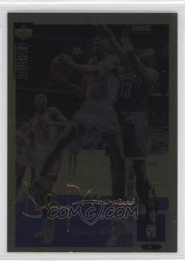 1994-95 Upper Deck Collector's Choice - [Base] - Gold Signature #126 - Johnny Newman