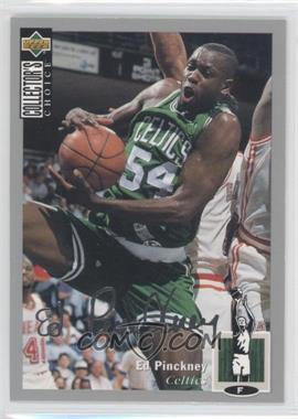 1994-95 Upper Deck Collector's Choice - [Base] - Silver Signature #54 - Ed Pinckney