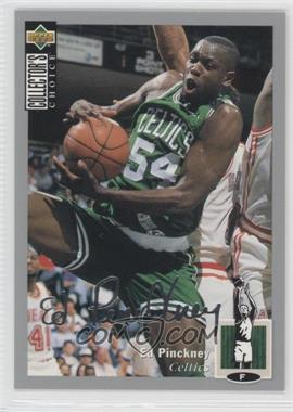 1994-95 Upper Deck Collector's Choice Silver Signature #54 - Ed Pinckney