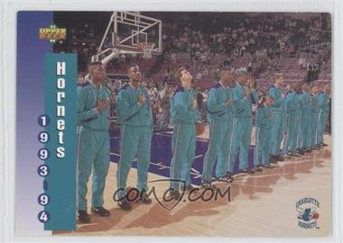 1994 Upper Deck McDonald's Teams #3 - Charlotte Hornets Team