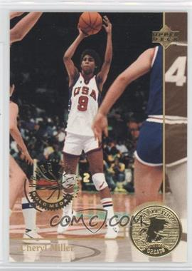 1994 Upper Deck USA Basketball Gold Medal #89 - Cheryl Miller