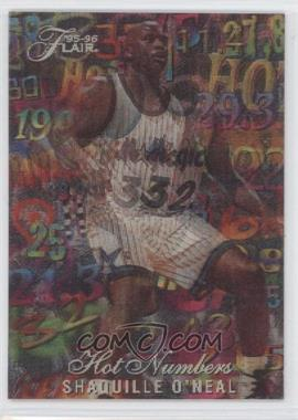 1995-96 Flair - Hot Numbers #11 - Shaquille O'Neal