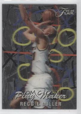 1995-96 Flair Play Maker #4 - Reggie Miller