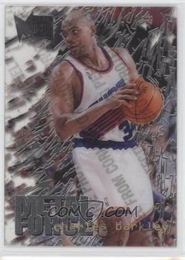 1995-96 Fleer Metal Metal Force #2 - Charles Barkley