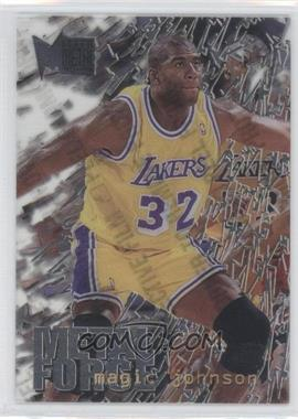 1995-96 Fleer Metal Metal Force #6 - Magic Johnson