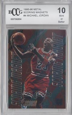 1995-96 Fleer Metal Scoring Magnet #4 - Michael Jordan [ENCASED]