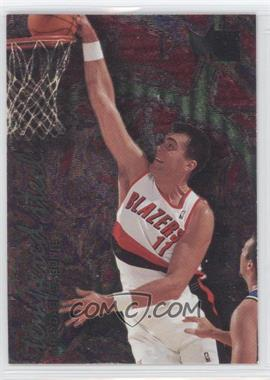 1995-96 Fleer Metal Tempered Steel #7 - Arvydas Sabonis