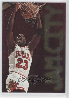 1995-96 Fleer Ultra Jam City #3 - Michael Jordan