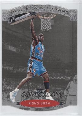 1995-96 SP - NBA All-Stars Die-Cut #AS2 - Michael Jordan