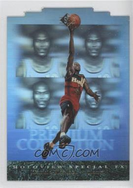 1995-96 SP Premium Collection Holoview Die-Cut Special FX #PC1 - Mookie Blaylock
