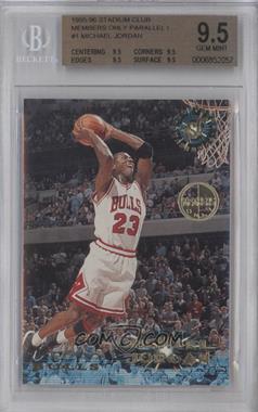 1995-96 Stadium Club Members Only #1 - Michael Jordan [BGS9.5]