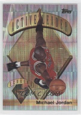 1995-96 Topps - Mystery Finest - Power Boosters #1 - Michael Jordan