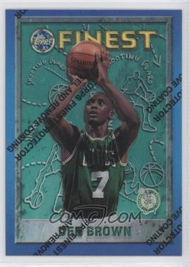 1995-96 Topps Finest - [Base] - Refractor #29 - Dee Brown