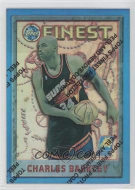 1995-96 Topps Finest - [Base] - Refractor #34 - Charles Barkley
