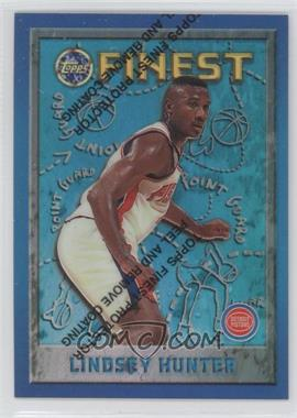 1995-96 Topps Finest - [Base] - Refractor #98 - Lindsey Hunter