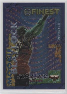 1995-96 Topps Finest - Rookie/Veteran #RV-16 - Mookie Blaylock, Alan Henderson