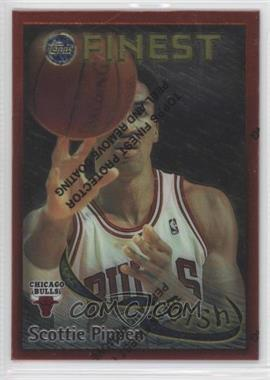 1995-96 Topps Finest Dish and Swish #DS4 - Michael Jordan, Scottie Pippen