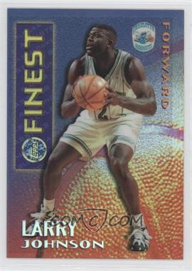 1995-96 Topps Finest Mystery Finest Borderless Refractor #M13 - Larry Johnson