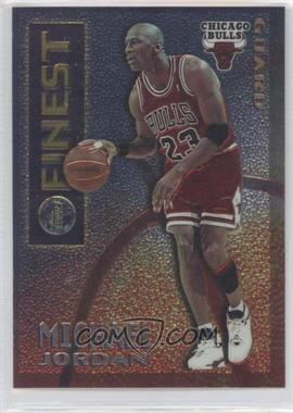 1995-96 Topps Finest Mystery Finest Borderless/Silver #M 1 - Michael Jordan