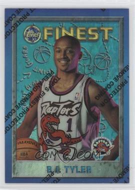 1995-96 Topps Finest Refractor #202 - B.J. Tyler