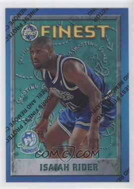 1995-96 Topps Finest Refractor #45 - Isaiah Rider