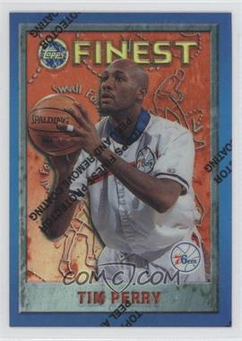 1995-96 Topps Finest Refractor #79 - Tim Perry