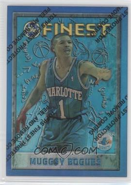 1995-96 Topps Finest Refractor #82 - Muggsy Bogues