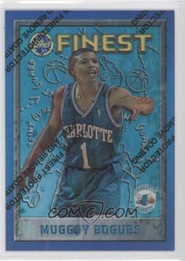 1995-96 Topps Finest Refractor #82 - Tyrone Bogues