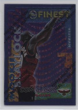 1995-96 Topps Finest Rookie/Veteran #RV-16 - Mookie Blaylock, Alan Henderson