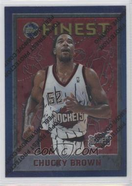 1995-96 Topps Finest #141 - Chucky Brown