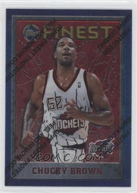 1995-96 Topps Finest #141 - Chucky Brown
