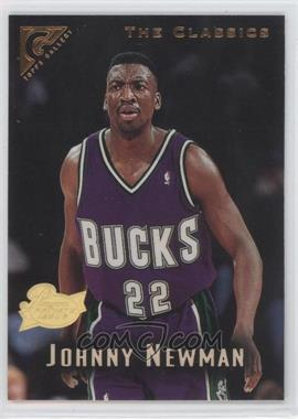 1995-96 Topps Gallery Players Private Issue #111 - Johnny Newman