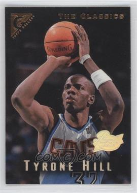 1995-96 Topps Gallery Players Private Issue #63 - Tyrone Hill