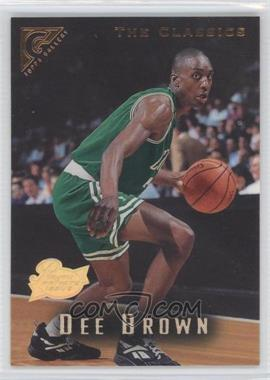 1995-96 Topps Gallery Players Private Issue #85 - Dee Brown