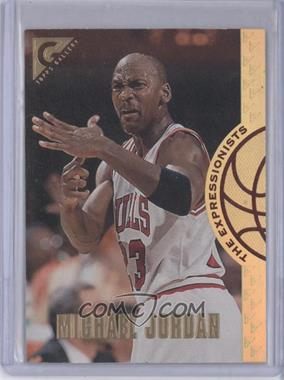 1995-96 Topps Gallery The Expressionists #EX2 - Michael Jordan
