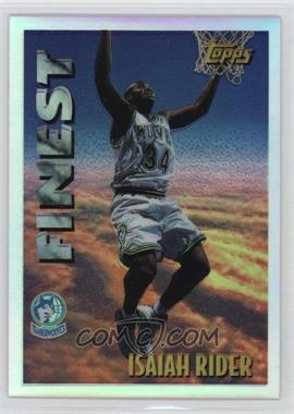 1995-96 Topps Mystery Finest Refractor #M 21 - Isaiah Rider
