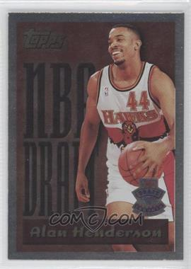 1995-96 Topps NBA Draft #16 - Alan Henderson