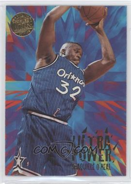 1995-96 Ultra Ultra Power Gold Medallion Edition #9 - Shaquille O'Neal