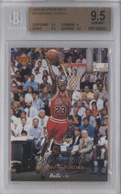1995-96 Upper Deck - [Base] #23 - Michael Jordan [BGS 9.5]