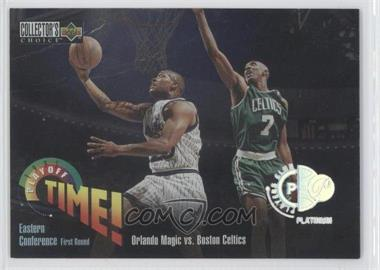 1995-96 Upper Deck Collector's Choice - [Base] - Platinum Player's Club #350 - [Missing]