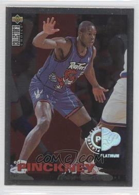 1995-96 Upper Deck Collector's Choice - Prize Debut Trade - Platinum Player's Club #T24 - Ed Pinckney